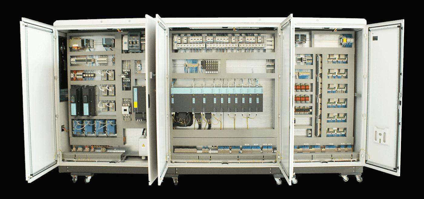 Schemi Elettrici Bordo Macchina : Progettazione impianti quadristica e bordo